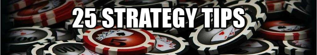 25 strategy tips