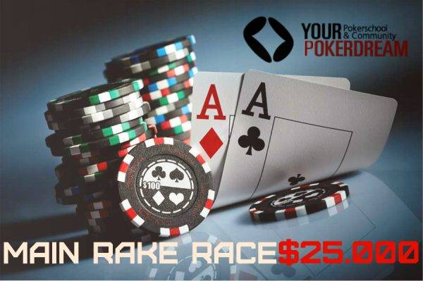 main rake race 25.000 yourpokerdream