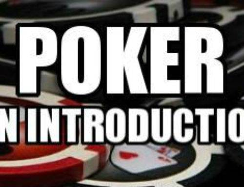 Poker – An Introduction