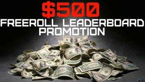 3.000 freeroll leaderboaed promotion yourpokerdream