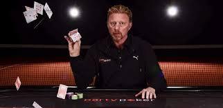 Boris Becker pokerplayer