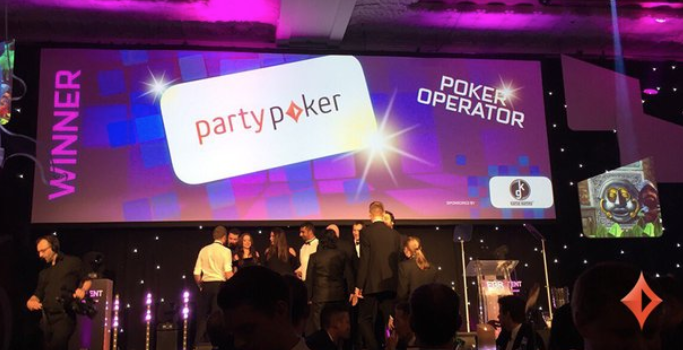 Party Poker wins the award 2017