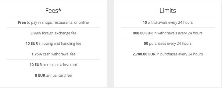 Neteller Fees MasterCard