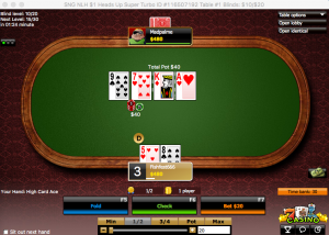 poker table 888