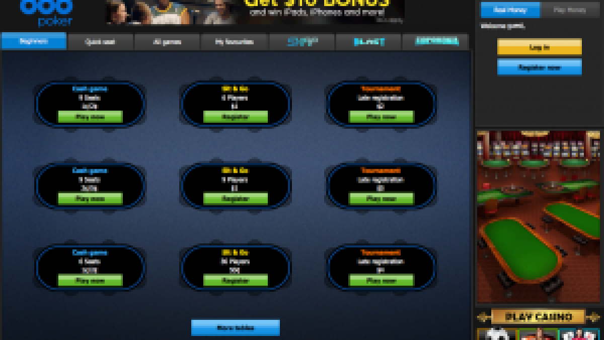 Read Our Detailed Review About 888poker And Receive Some Extra Cash