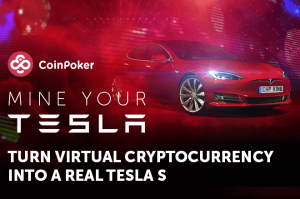 tesla s from coin poker