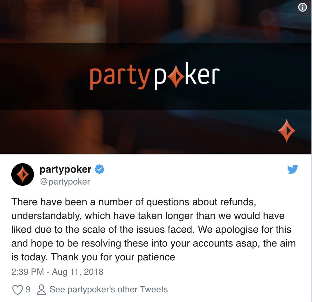 PartyPoker DDos