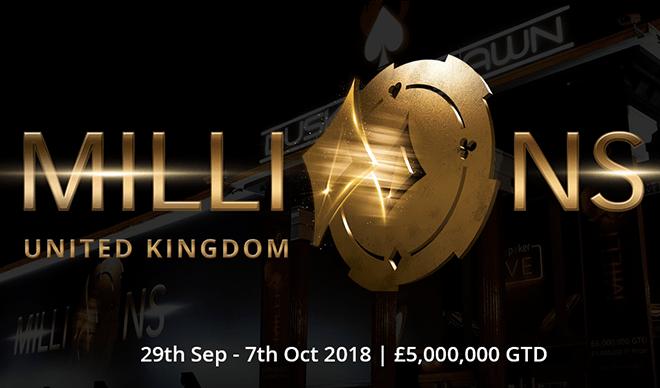 MILLIONS UK 2018