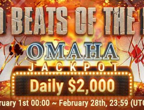 Omaha Bad Beat Promotion at GGPoker in February