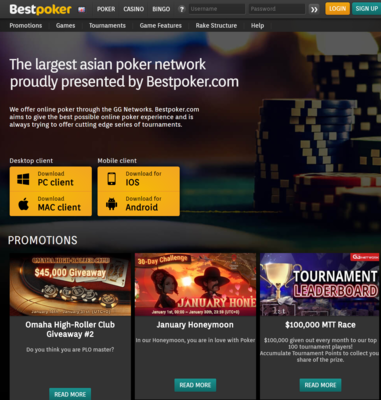 BestPoker Registration Step1