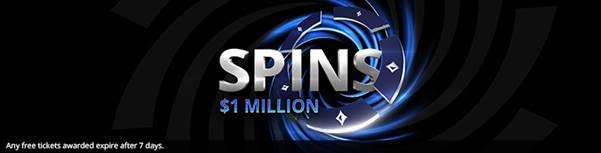 Spins 1 Million