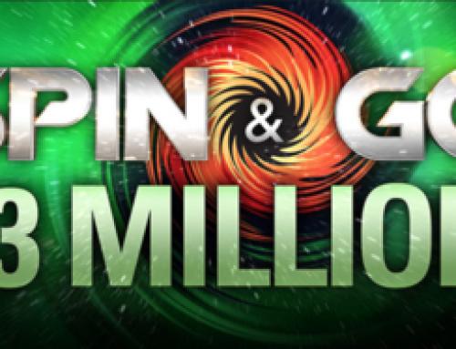 PokerStars announce 3 Million USD Spin&Gos