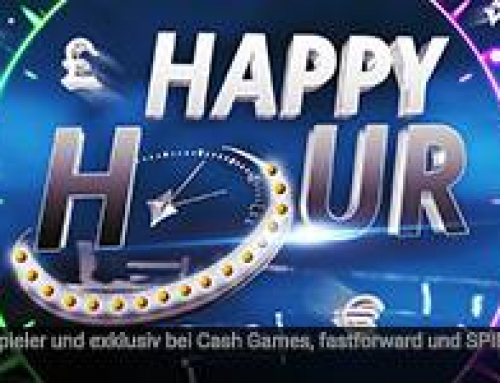 Earn double points and double rakeback with the partypoker happy hour