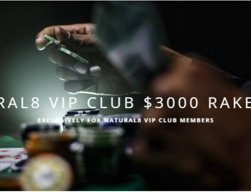 Monthly $3000 Rake Race at Natural8