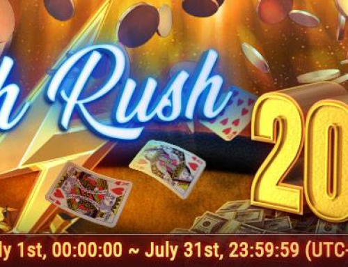 GG Network 200.000$ Flush&Cash Promotion July 2019