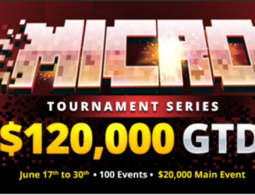 Micro Tournament Series at BetOnline with 120.000$ Gtd