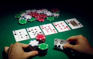 betting round while playing poker
