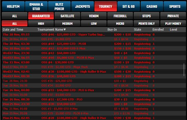 $12M Online Super Series at Winning Poker Network will take place in November