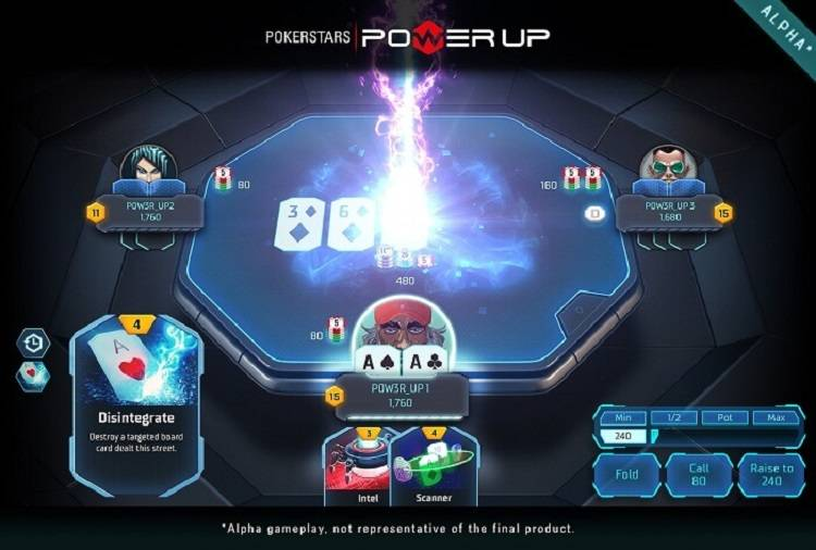 Power up at Pokerstars