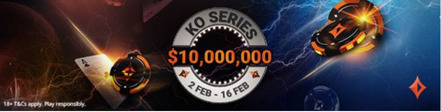 Knockout poker games are back at partypoker