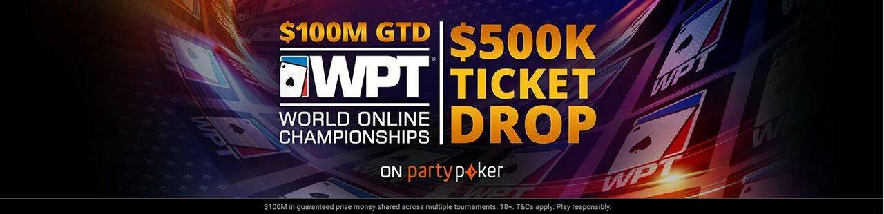 partypoker is dropping WTP tickets 2020