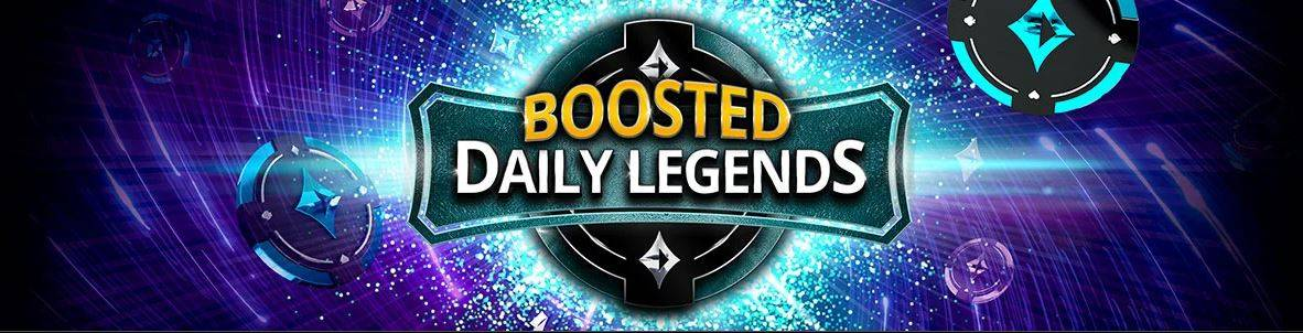 Boosted Daily Legends promotion on partypoker