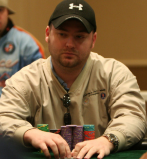 Mike Postl is accused of cheating during the poker game